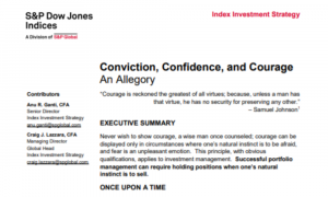 Conviction, Confidence, and Courage – The Challenges for an Active Manager