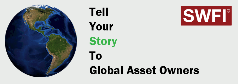 Tell your story to global asset owners