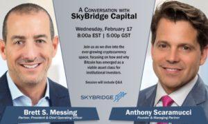 February 17, A Conversation with SkyBridge Capital on Bitcoin
