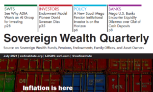 Sovereign Wealth Quarterly July 2021 Edition Released